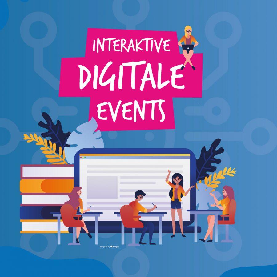 Interaktive digitale Events