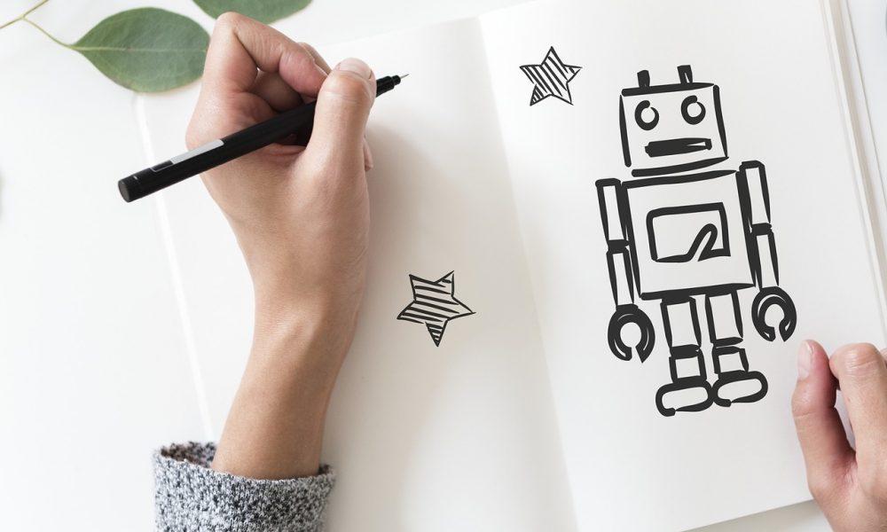 Digitalisierung-Roboter